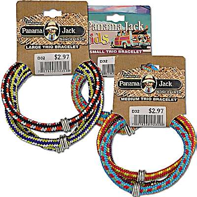 Panama Jack Rainbow Snap Bracelets