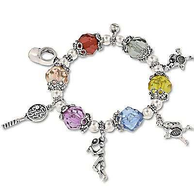 WHOLESALE HOLIDAY STRETCH CHARM BRACELET (SKU 672129) DOLLARDAYS