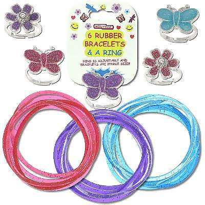 COSTUME JEWELRY WHOLESALE: RUBBER BRACELETS, JELLY BRACELETS