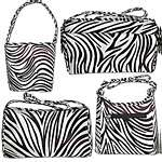 Zebra Stripe Handbags
