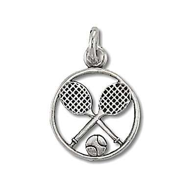 Silver Sports Charms
