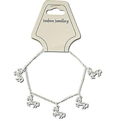 Horse Dangle Charm Bracelet